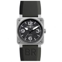 Bell & Ross BR03-92 BLC-ST Steel BR 03-92 Steel 42mm new United States of America, Pennsylvania, Holland
