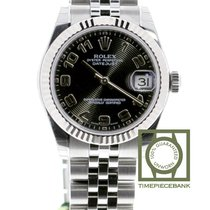 Rolex Lady-Datejust Acél 31mm Fekete Arab