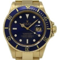 Rolex 16808 Yellow gold 1987 Submariner Date 40mm pre-owned United States of America, Florida, 33132