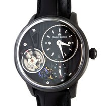 Maurice Lacroix Masterpiece Gravity Steel 43mm Black No numerals