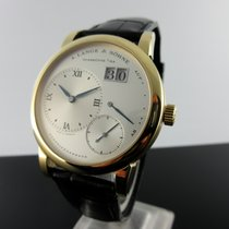 A. Lange & Söhne Lange 1 tweedehands 38,5mm Geelgoud