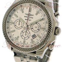 Breitling Bentley Barnato Steel 49mm Silver No numerals United States of America, New York, New York