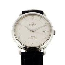 Omega De Ville Prestige Chronometer with Papers & New Strap