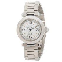 Cartier Pasha de Cartier 'C' W31044M7 Men's Watch in Stainless...