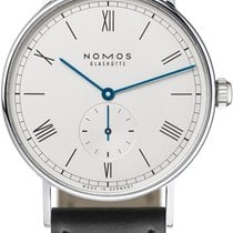 NOMOS Ludwig 38 Steel 37.5mm White United States of America, New York, Airmont