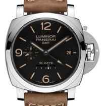 Panerai PAM00533 PAM 533 Luminor 1950 10 Days GMT - Steel on...