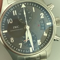 IWC Pilot Spitfire Chronograph новые 43mm Сталь