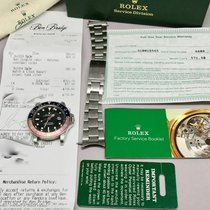 Rolex GMT Master II 16750 Red Blue Pepsi Bezel Stainless Watch...