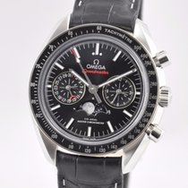 Omega Speedmaster Professional Moonwatch Moonphase Staal 44.25mm Zwart