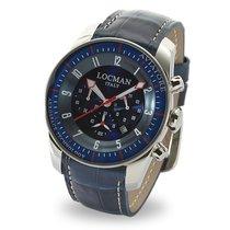 Locman Titanium Quartz Blue 44mm new