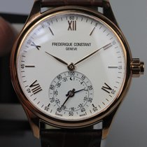 Frederique Constant 42mm Quarz 2017 neu Horological Smartwatch Silber