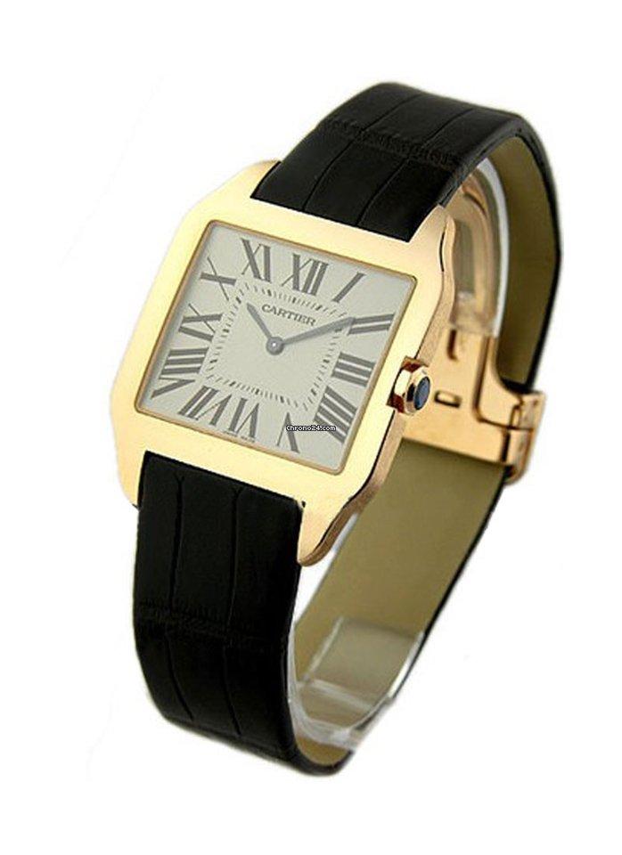 c330898b420 Cartier Santos Dumont - Todos os preços de relógios Cartier Santos Dumont  na Chrono24