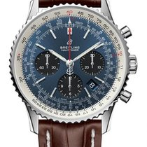 Breitling Navitimer 1 B01 Chronograph 43 new 2020 Automatic Chronograph Watch with original box and original papers AB0121211C1P2