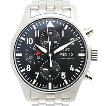 IWC Pilot Chronograph new Automatic Watch with original box and original papers IW377710