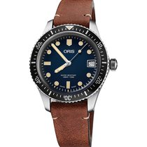 Oris Divers Sixty Five new Automatic Watch with original box and original papers 01 733 7720 4055-07 5 21 45