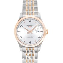 Longines Record Steel Silver