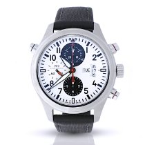 IWC Pilot Double Chronograph IW371803 2008 pre-owned