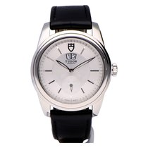 Tudor Glamour Double Date Steel 42mm Silver No numerals