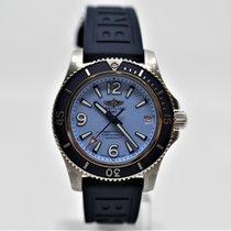 Breitling Superocean II 36 Staal 36mm Blauw Arabisch