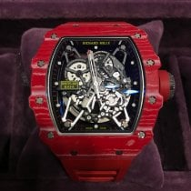 Richard Mille RM 035 Carbon 49.94mm Transparent No numerals