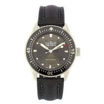 Blancpain Fifty Fathoms Bathyscaphe Acero 38mm Negro