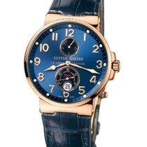 Ulysse Nardin Marine Chronometer 41mm Rose gold 41mm Blue