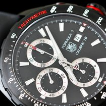 TAG Heuer Formula 1 Calibre 16 Steel 44mm Black No numerals United Kingdom, Tipton