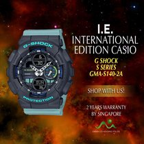 Casio Steel Quartz GMA-S140-2A new