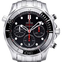 Omega Seamaster Diver 300 M Steel 44mm Black