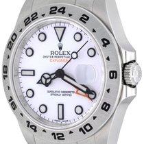 Rolex Explorer II Steel 42mm White No numerals United States of America, Texas, Dallas