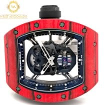 Richard Mille RM 052 RM 52-01 Very good Carbon Manual winding