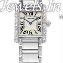Cartier Tank Française White gold 25mm Silver United States of America, Florida, 33431
