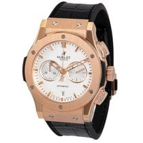 Hublot Classic Fusion Chronograph Roségold 42mm Silber