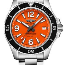 Breitling Superocean 42 Сталь 42mm Oранжевый