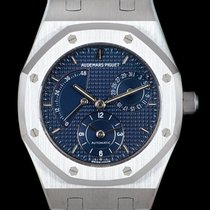 Audemars Piguet Royal Oak Dual Time Сталь 37mm Синий