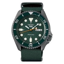 Seiko 5 Sports Steel Green No numerals United States of America, Florida, Tarpon Springs