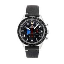 欧米茄 Speedmaster Professional Moonwatch 钢 39.7mm 蓝色 阿拉伯数字
