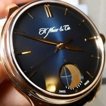 H.Moser & Cie. Rose gold 41mm Manual winding 348.901 new