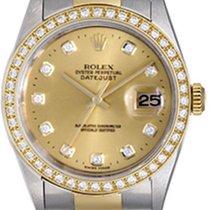Rolex Men's Rolex Datejust 2-Tone Steel & Gold Watch...