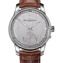 Moritz Grossmann Manual winding new ATUM Pure Silver