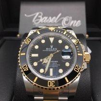 Rolex Submariner Date 116613ln steel gold black dial sport