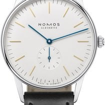 NOMOS Orion Steel 38mm White United States of America, New York, Airmont
