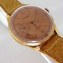 Chronographe Suisse Cie Suisse Chronographe 18k Gold 17 Rubis...