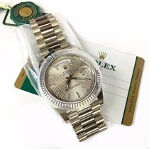 Rolex Day-Date 40mm 18k White Gold