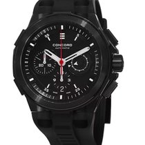 Concord C2 Chronograph Black PVD Stainless Steel Automatic