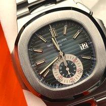 """Patek Philippe Nautilus 5980/1A-001 """"Blue"""" B & P DEUTSCH  Full..."""
