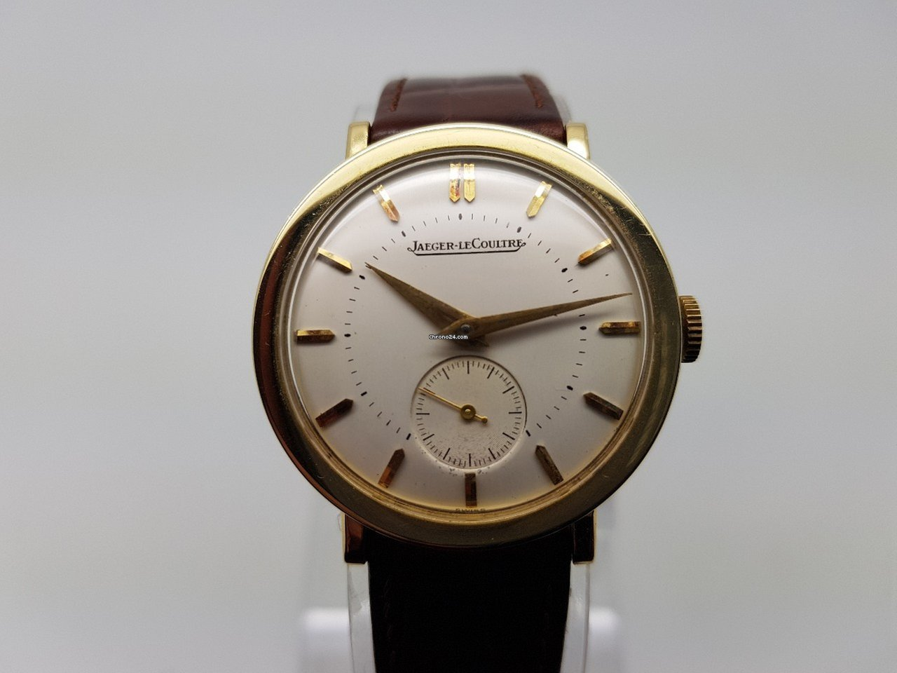 ee0521d1dfc7 Jaeger-LeCoultre 14k Yellow Gold Mens Vintage Watch Manual... for ...