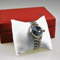 Rolex Lady-Datejust Gold/Steel 26mm Blue No numerals