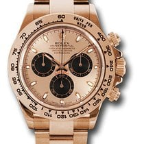 Rolex Daytona Rose gold 40mm Pink No numerals