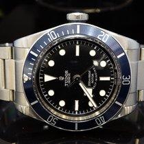 Tudor 2016 Black Bay Blue, 79220B, Box & papers, Nato Strap